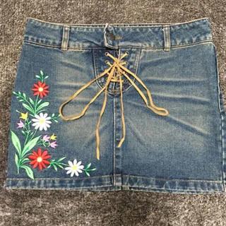 リズリサ(LIZ LISA)の[LISLISA]デニムスカート(ミニスカート)