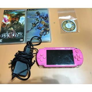 PlayStation Portable - PSP本体 ピンク 動作確認済み