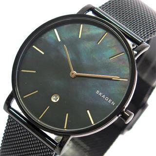 スカーゲン(SKAGEN)のスカーゲン SKAGEN 腕時計 メンズ クォーツ ブラックシェル ブラック(腕時計(アナログ))