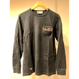 スキャナー(SCANNER)のSCANNER カットソー ブラック(Tシャツ/カットソー(七分/長袖))