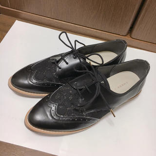ジェリービーンズ(JELLY BEANS)のジェリービーンズ  レースコンビマニッシュシューズ レースアップシューズ(ローファー/革靴)