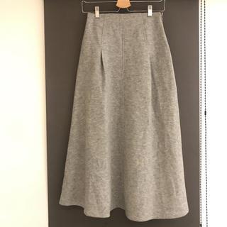 マカフィー(MACPHEE)のMACPHEE ウールロングスカート 36(ロングスカート)