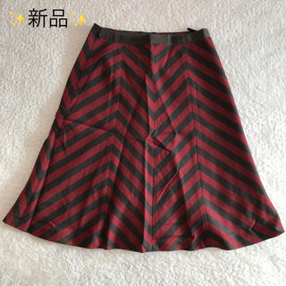 アナイ(ANAYI)の新品✨アナイ 秋冬スカート(ひざ丈スカート)