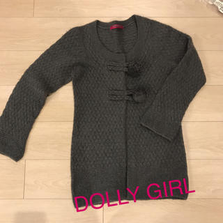 ドーリーガールバイアナスイ(DOLLY GIRL BY ANNA SUI)のDOLLY GIRL  ロングカーデ(カーディガン)