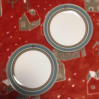 イッタラ(iittala)の【新品未使用】iittala origo ベージュ プレート2枚セット(食器)