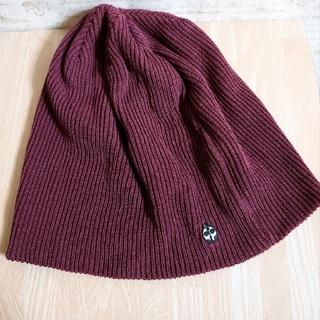 テットオム(TETE HOMME)のニット帽 リブニット ユニセックス(ニット帽/ビーニー)