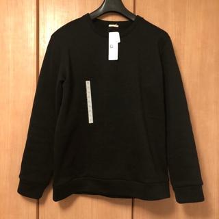 ジーユー(GU)の【暖】[新品] GU | ニットフリースプルオーバーシャツ | XL(スウェット)