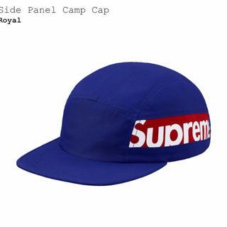シュプリーム(Supreme)のSupreme Side Panel Camp Cap Royal (キャップ)