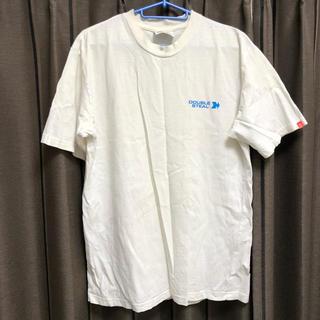 ダブルスティール(DOUBLE STEAL)の【DOUBLE STEAL】ワンポイントタグ付き Tシャツ Mサイズ(Tシャツ/カットソー(半袖/袖なし))