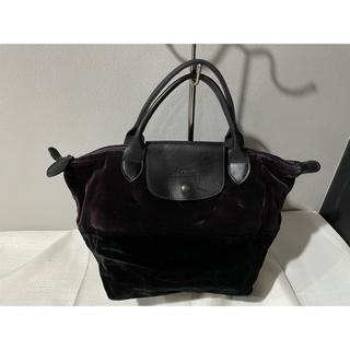 4382e721eb4e Longchamp ショルダーバッグ. ¥14,900. ロンシャン(LONGCHAMP)の本物ロンシャン本革トートハンドバッグ鞄ベロア紫パープル ビジネス