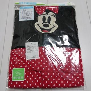 ディズニー(Disney)の新品未開封ミニーマウス長袖コンビドレス年中素材50〜60センチ(カバーオール)
