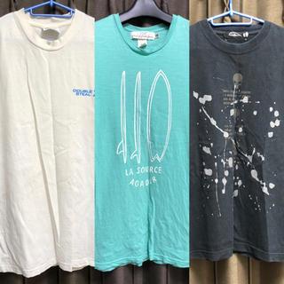 ダブルスティール(DOUBLE STEAL)の【3点セット】DOUBLE STEAL / H&M Tシャツなど Mサイズ(Tシャツ/カットソー(半袖/袖なし))