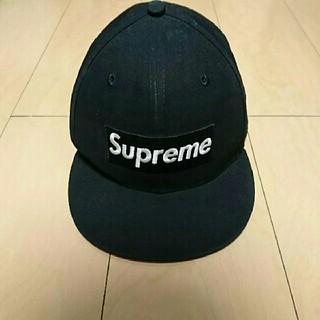 シュプリーム(Supreme)のSupremevNEWERA ボックスロゴ GORE-TEX キャップ ブラック(キャップ)