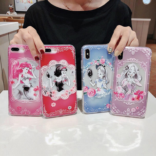 Disney - ディズニーキャラクター プリンセス iPhoneケース スマホ 携帯ケース
