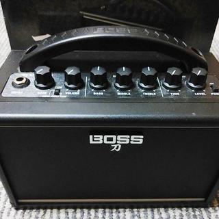 ボス(BOSS)のBOSS KATANA-MINI 元箱付き ミニアンプ 送料無料(ギターアンプ)