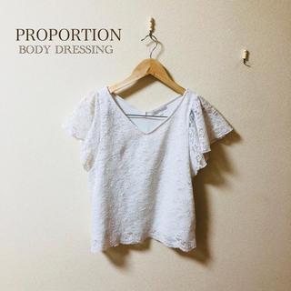 PROPORTION BODY DRESSING - 【美品】PROPORTION BODY DRESSING レーストップス