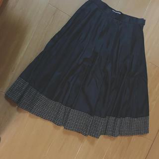 ジュンヤワタナベ(JUNYA WATANABE)のJUNYA WATANABE切替スカート(ひざ丈スカート)