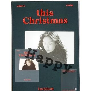 ショウジョジダイ(少女時代)のTAEYEON∞ALBUM「this Christmas」^^テヨン:少女時代♪(K-POP/アジア)