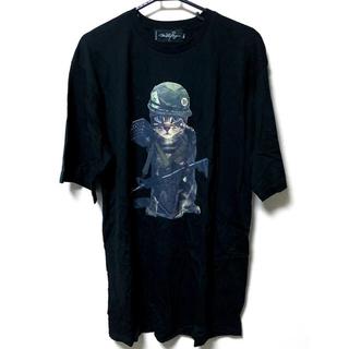 ミルクボーイ(MILKBOY)の早い者勝ち!【milkboy】CAT ARMY tee 黒(Tシャツ/カットソー(半袖/袖なし))