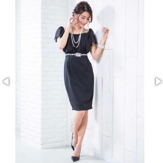 デイジーストア(dazzy store)のキャバドレス ネイビー(ナイトドレス)