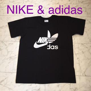 NIKE - 新品 NIKE adidas コラボTシャツ パロディTシャツ
