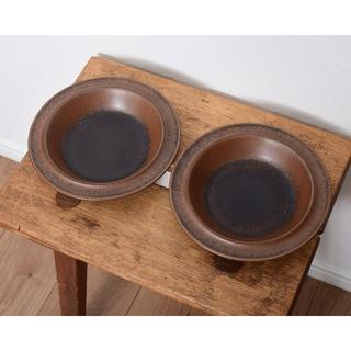アラビア(ARABIA)のアラビア (現イッタラ社) ルスカ 20cm サラダ ボウル 2皿セット(食器)