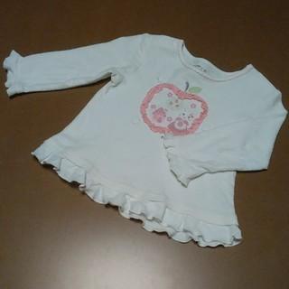 クーラクール(coeur a coeur)のクーラクール アップリケTシャツ 80(Tシャツ)