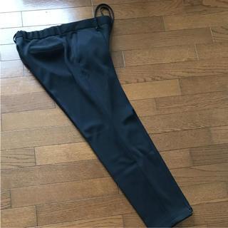 エディフィス(EDIFICE)のエディフィス  ストレッチ素材パンツ 黒(スラックス)
