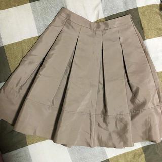エムプルミエ(M-premier)のエムプルミエブラックM-premierBLACKプリーツスカート膝丈OL(ひざ丈スカート)