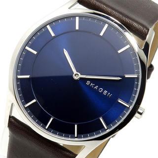 スカーゲン(SKAGEN)のスカーゲン SKAGEN クオーツ メンズ 腕時計 ネイビー(腕時計(アナログ))