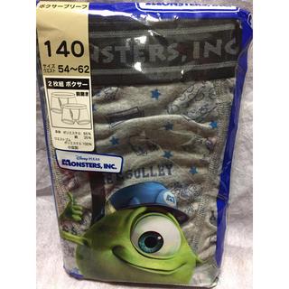 ディズニー(Disney)の新品】140 ボクサーパンツ 2枚  定価 ¥980  モンスターズインク ①(下着)
