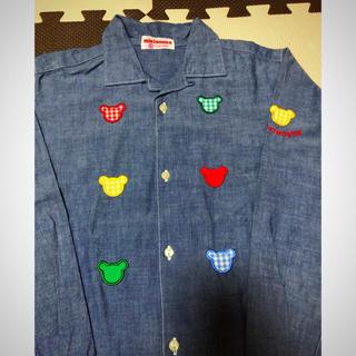 ミキハウス(mikihouse)のミキハウスシャツ130 日本製(ブラウス)