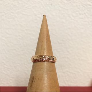 ロノ(LONO)の【りんしお様専用】ワイレア  ピンキーリング ピンクゴールド(リング(指輪))