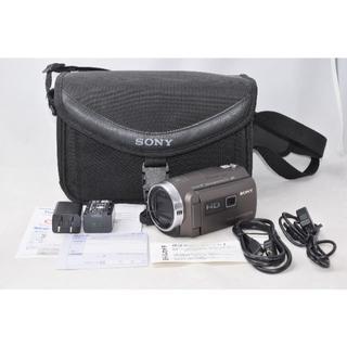 ソニー(SONY)の展示品☆ SONY HDR-PJ680 ブラウン☆プロジェクター バック付(ビデオカメラ)