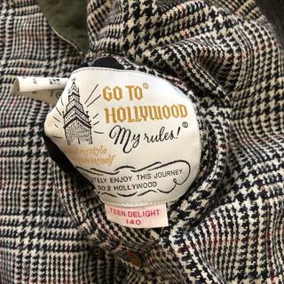 ゴートゥーハリウッド(GO TO HOLLYWOOD)のgo to Hollywood リバーシブル キルティング コート(コート)