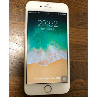 Apple - SIMフリー iPhone6s 64GB ゴールド 中古