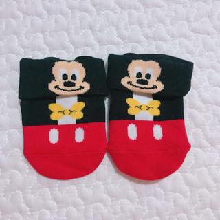 ディズニー(Disney)の〈新品未着用〉ディズニーリゾート ベビーソックス(靴下/タイツ)