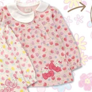 クーラクール(coeur a coeur)のクーラクール 110 キティコラボ うさみみ プルオーバー ピンク(Tシャツ/カットソー)