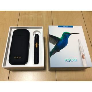アイコス(IQOS)の【美品】iQOS2.4plus ネイビー (タバコグッズ)