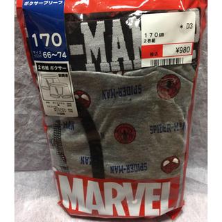 ディズニー(Disney)の新品】170  ボクサーパンツ  2枚  定価 ¥980  スパイダーマン ③(下着)