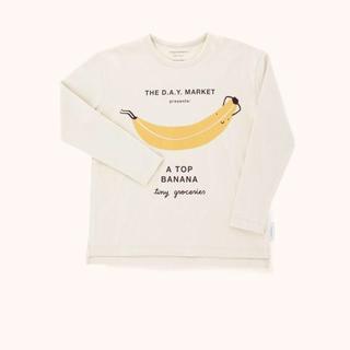 コドモビームス(こども ビームス)の【新品・未使用】tinycottons  バナナ ロンT 2y(Tシャツ/カットソー)