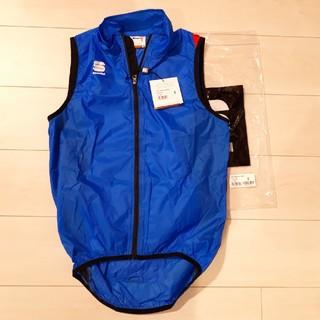 新品 sportful HOT PACK5 ジャケット ブルー 青 Sサイズ