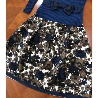 エムズグレイシー(M'S GRACY)のエムズグレイシー2017年秋冬カタログ色違いスカート新品(ひざ丈スカート)