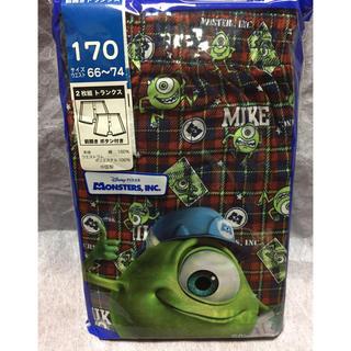 ディズニー(Disney)の新品】170  トランクス  2枚  定価 ¥980  モンスターズインク ④(下着)
