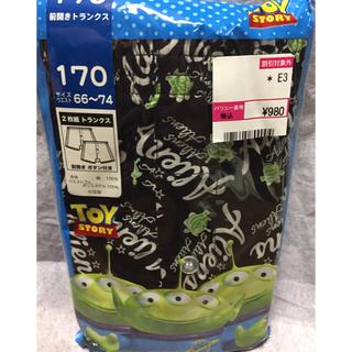 ディズニー(Disney)の新品】170  トランクス  2枚  定価 ¥980  トイストーリー ⑤(下着)