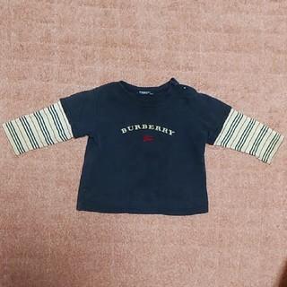 バーバリー(BURBERRY)のBURBERRY長袖 80(シャツ/カットソー)