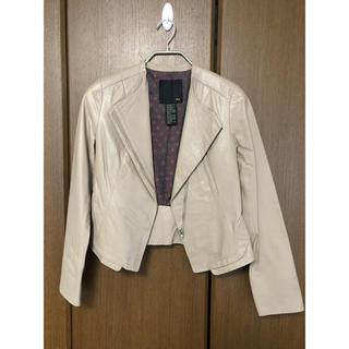 ダブルスタンダードクロージング(DOUBLE STANDARD CLOTHING)の新品美品 ライダースジャケット(ライダースジャケット)