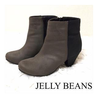 ジェリービーンズ(JELLY BEANS)のジェリービーンズ/ショートブーツ ザラ アーバンリサーチ エスペランサ h&m(ブーティ)