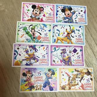 ディズニー(Disney)の【使用済み❣️】東京ディズニーリゾート35周年パスポート『全7枚+1枚』セット(遊園地/テーマパーク)