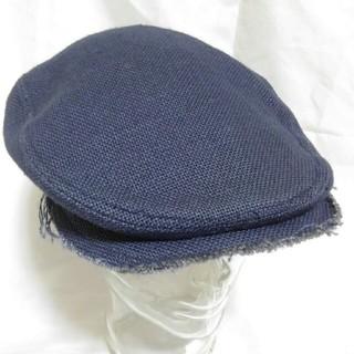 カシラ(CA4LA)のCA4LA カシラ ハトメ ジュート 麻 ハンチング 未使用品(ハンチング/ベレー帽)